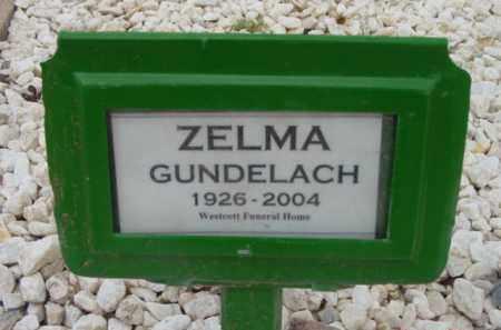 GUNDELACH, ZELMA NAMOTIA - Yavapai County, Arizona   ZELMA NAMOTIA GUNDELACH - Arizona Gravestone Photos