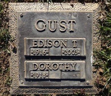 GUST, EDISON THEODORE - Yavapai County, Arizona | EDISON THEODORE GUST - Arizona Gravestone Photos