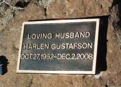 GUSTAFSON, HARLEN K. - Yavapai County, Arizona   HARLEN K. GUSTAFSON - Arizona Gravestone Photos