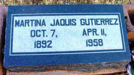 GUTIERREZ, MARTINA JAQUIS - Yavapai County, Arizona | MARTINA JAQUIS GUTIERREZ - Arizona Gravestone Photos