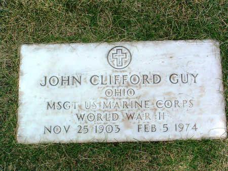 GUY, JOHN CLIFFORD - Yavapai County, Arizona | JOHN CLIFFORD GUY - Arizona Gravestone Photos