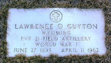 GUYTON, LAWRENCE OLIVER - Yavapai County, Arizona | LAWRENCE OLIVER GUYTON - Arizona Gravestone Photos