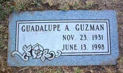 GUZMAN, GUADALUPE A. - Yavapai County, Arizona | GUADALUPE A. GUZMAN - Arizona Gravestone Photos
