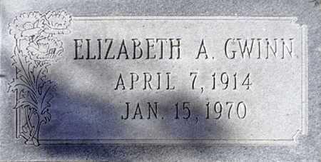 COBURN GWINN, ELIZABETH A. - Yavapai County, Arizona | ELIZABETH A. COBURN GWINN - Arizona Gravestone Photos
