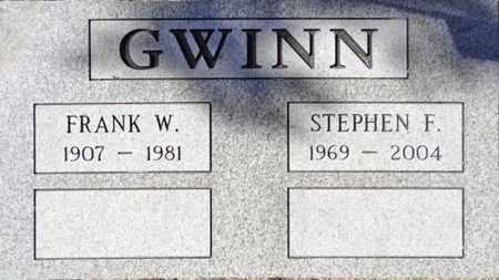 GWINN, FRANK WILSON - Yavapai County, Arizona | FRANK WILSON GWINN - Arizona Gravestone Photos