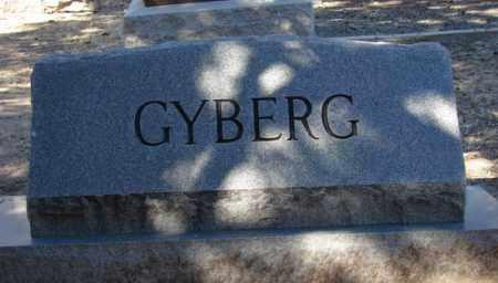 GYBERG, FAMILY HEADSTONE - Yavapai County, Arizona | FAMILY HEADSTONE GYBERG - Arizona Gravestone Photos
