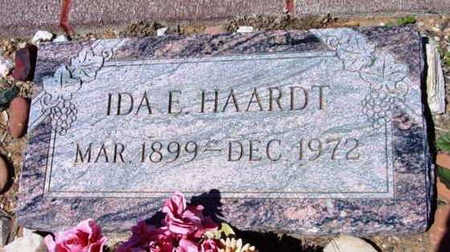 HAARDT, IDA E. - Yavapai County, Arizona   IDA E. HAARDT - Arizona Gravestone Photos