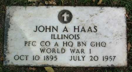HAAS, JOHN ALOYSIUS - Yavapai County, Arizona   JOHN ALOYSIUS HAAS - Arizona Gravestone Photos