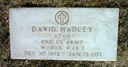 HADLEY, DAVID - Yavapai County, Arizona | DAVID HADLEY - Arizona Gravestone Photos