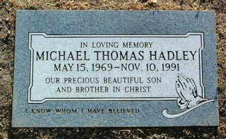 HADLEY, MICHAEL THOMAS - Yavapai County, Arizona | MICHAEL THOMAS HADLEY - Arizona Gravestone Photos
