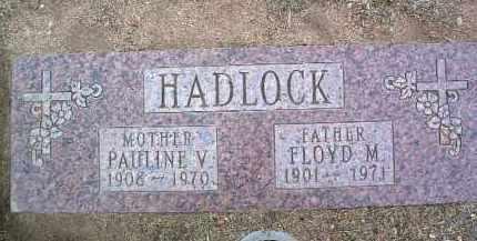 HADLOCK, FLOYD MARION - Yavapai County, Arizona | FLOYD MARION HADLOCK - Arizona Gravestone Photos