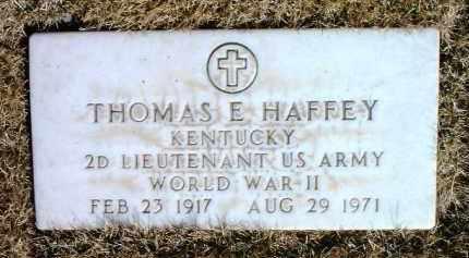 HAFFEY, THOMAS E. - Yavapai County, Arizona | THOMAS E. HAFFEY - Arizona Gravestone Photos