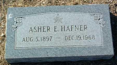 HAFNER, ASHER E. - Yavapai County, Arizona | ASHER E. HAFNER - Arizona Gravestone Photos