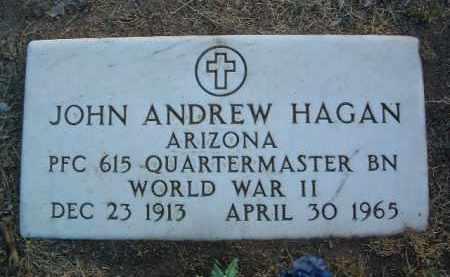 HAGAN, JOHN ANDREW - Yavapai County, Arizona | JOHN ANDREW HAGAN - Arizona Gravestone Photos