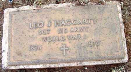 HAGGARTY, LEO J. - Yavapai County, Arizona | LEO J. HAGGARTY - Arizona Gravestone Photos