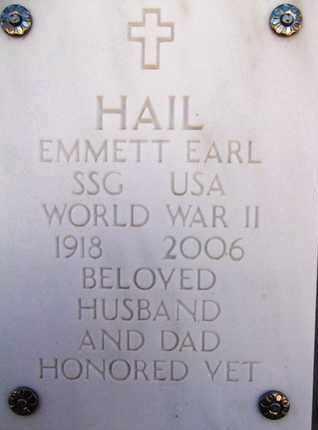 HAIL, EMMETT EARL - Yavapai County, Arizona | EMMETT EARL HAIL - Arizona Gravestone Photos