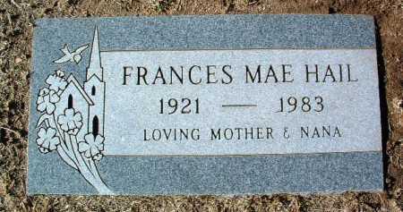 DORMAN HAIL, FRANCES MAE - Yavapai County, Arizona | FRANCES MAE DORMAN HAIL - Arizona Gravestone Photos