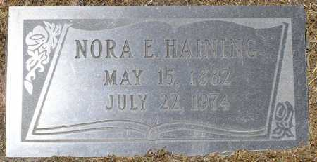CROWN HAINING, NORA ELLEN - Yavapai County, Arizona   NORA ELLEN CROWN HAINING - Arizona Gravestone Photos