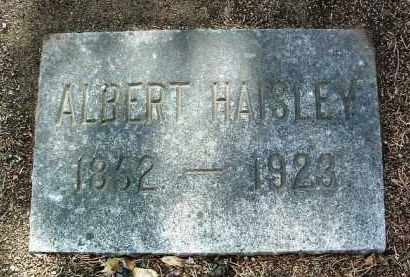 HAISLEY, ALBERT - Yavapai County, Arizona | ALBERT HAISLEY - Arizona Gravestone Photos
