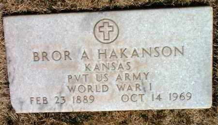HAKANSON, BROR A. - Yavapai County, Arizona | BROR A. HAKANSON - Arizona Gravestone Photos