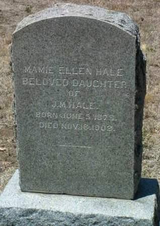 HALE, MAMIE ELLEN - Yavapai County, Arizona | MAMIE ELLEN HALE - Arizona Gravestone Photos
