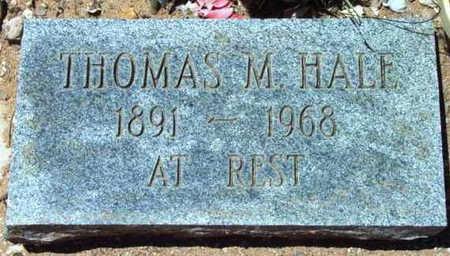 HALE, THOMAS M. - Yavapai County, Arizona   THOMAS M. HALE - Arizona Gravestone Photos