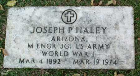 HALEY, JOSEPH P. - Yavapai County, Arizona | JOSEPH P. HALEY - Arizona Gravestone Photos