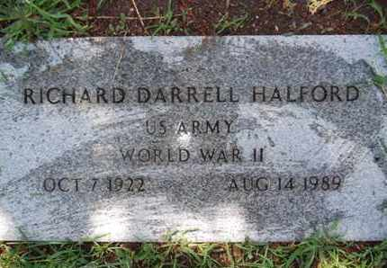 HALFORD, RICHARD DARRELL - Yavapai County, Arizona   RICHARD DARRELL HALFORD - Arizona Gravestone Photos
