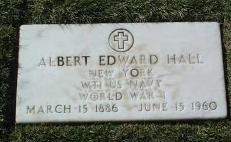 HALL, ALBERT EDWARD - Yavapai County, Arizona | ALBERT EDWARD HALL - Arizona Gravestone Photos