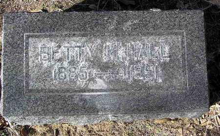 HALL, BERTHA M. (BETTY) - Yavapai County, Arizona   BERTHA M. (BETTY) HALL - Arizona Gravestone Photos