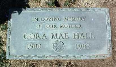 HALL, CORA MAE - Yavapai County, Arizona | CORA MAE HALL - Arizona Gravestone Photos