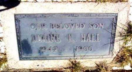 HALL, DUANE K. - Yavapai County, Arizona | DUANE K. HALL - Arizona Gravestone Photos