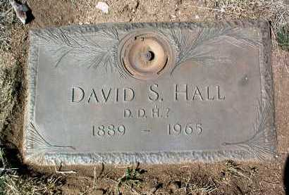HALL, DAVID S. - Yavapai County, Arizona | DAVID S. HALL - Arizona Gravestone Photos