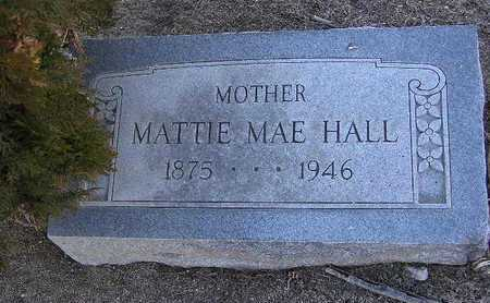HALL, MATTIE MAE - Yavapai County, Arizona | MATTIE MAE HALL - Arizona Gravestone Photos