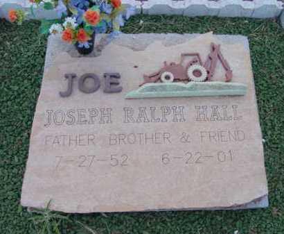 HALL, JOSEPH RALPH (JOE) - Yavapai County, Arizona   JOSEPH RALPH (JOE) HALL - Arizona Gravestone Photos