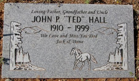 "HALL, JOHN P. ""TED"" - Yavapai County, Arizona 