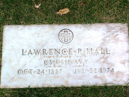 HALL, LAWRENCE P. - Yavapai County, Arizona | LAWRENCE P. HALL - Arizona Gravestone Photos