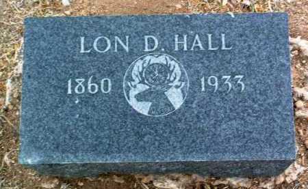 HALL, LON D. - Yavapai County, Arizona | LON D. HALL - Arizona Gravestone Photos
