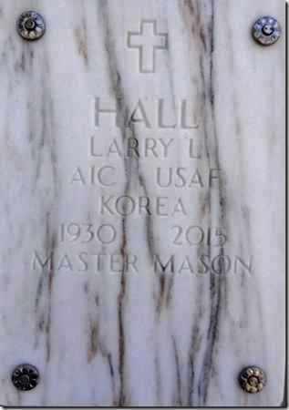 HALL, LARRY LAVERNE - Yavapai County, Arizona | LARRY LAVERNE HALL - Arizona Gravestone Photos