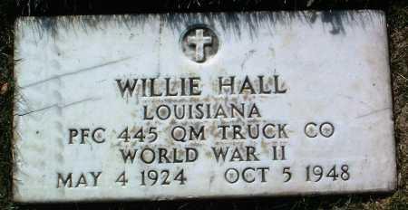 HALL, WILLIE - Yavapai County, Arizona   WILLIE HALL - Arizona Gravestone Photos