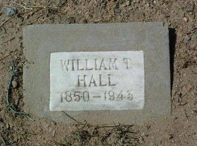 HALL, WILLIAM THOMAS - Yavapai County, Arizona   WILLIAM THOMAS HALL - Arizona Gravestone Photos