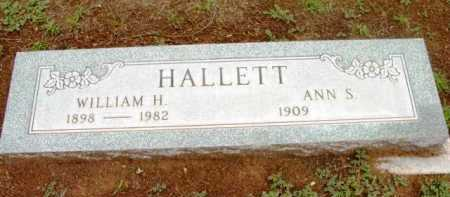 HALLETT, ANN S. - Yavapai County, Arizona | ANN S. HALLETT - Arizona Gravestone Photos