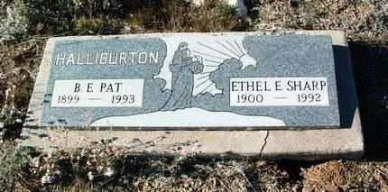 HALLIBURTON, ETHEL E. - Yavapai County, Arizona | ETHEL E. HALLIBURTON - Arizona Gravestone Photos