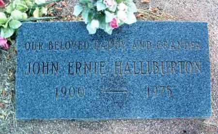 HALLIBURTON, JOHN ERNEST - Yavapai County, Arizona   JOHN ERNEST HALLIBURTON - Arizona Gravestone Photos