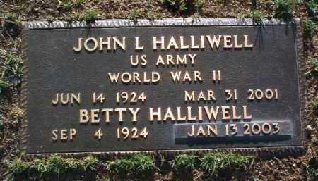ALLEN HALLIWELL, BETTY - Yavapai County, Arizona | BETTY ALLEN HALLIWELL - Arizona Gravestone Photos