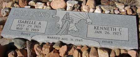 HALLOWS, KENNETH C. - Yavapai County, Arizona | KENNETH C. HALLOWS - Arizona Gravestone Photos