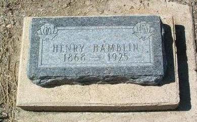 HAMBLIN, HENRY E. - Yavapai County, Arizona | HENRY E. HAMBLIN - Arizona Gravestone Photos