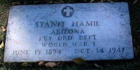 HAMIL, STANIT - Yavapai County, Arizona | STANIT HAMIL - Arizona Gravestone Photos