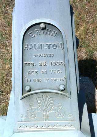 HAMILTON, ERWIN / IRVIN - Yavapai County, Arizona | ERWIN / IRVIN HAMILTON - Arizona Gravestone Photos