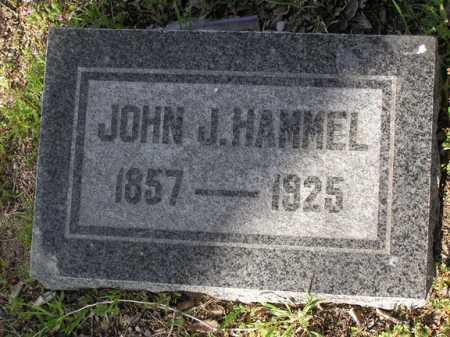 HAMMEL, JOHN J - Yavapai County, Arizona   JOHN J HAMMEL - Arizona Gravestone Photos
